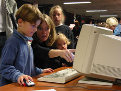 Kids and parents alike enjoyed using the software.