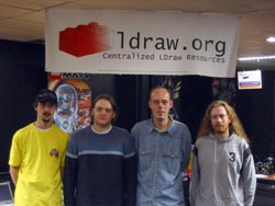 L-R: Jan-Albert van Ree, Tim Courtney, Jaco van der Molen, Dan Crichton.
